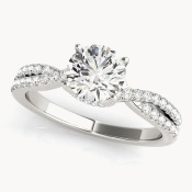 multi row engagement rings ohio