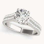 pave engagement rings ohio