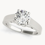 solitaire engagement rings ohio